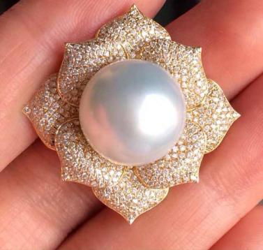 金钻良缘 - 珍珠戒指